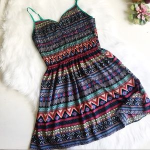 Xhilaration Aztec Tribal Dress Swimsuit Coverup